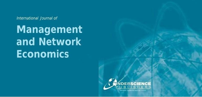 International Journal of Management and Network Economics